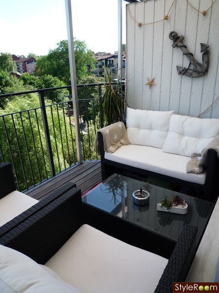 Dynor Utemobler Balkong Balcony And Outdoor Space In 2019