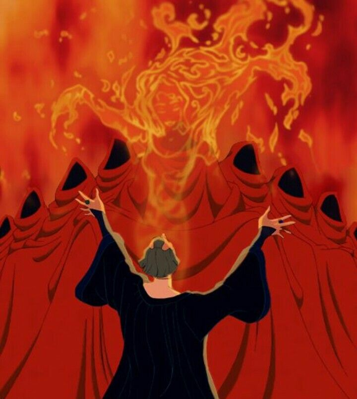 30 Day Disney Challenge | Day 12-favorite villain song - Hellfire ...