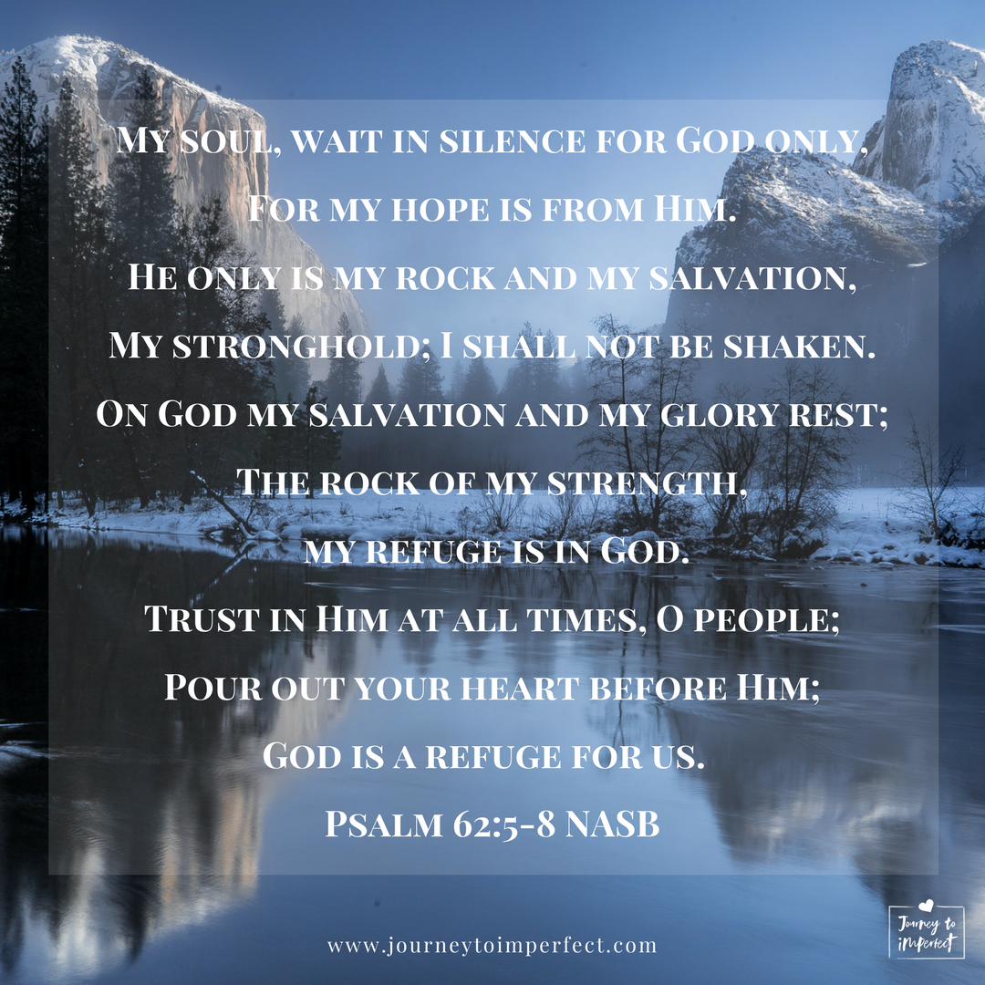 When life is difficult, hold on to this passage and seven more verses full of hope for you!  #hope #bibleverses #encouragement #journeytoimperfect #hopeinGod