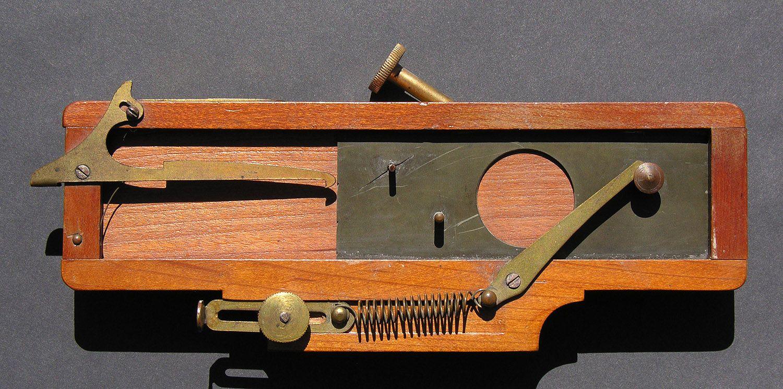 Climax Drop Shutter C 1887 1890 S E H T Anthony Co Camara Estenopeica Estenopeica Fotografia