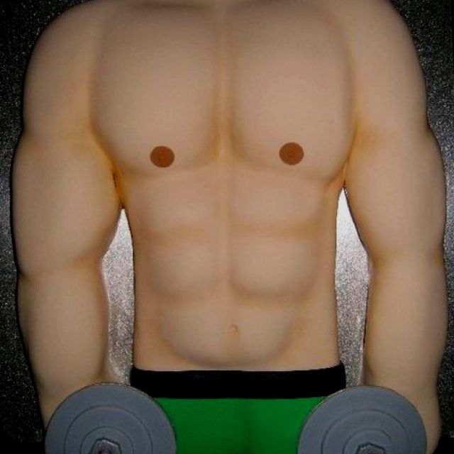 Incredible Muscle Man Cake For Johns Groom Cake Lol Cakes For Men Personalised Birthday Cards Xaembasilily Jamesorg
