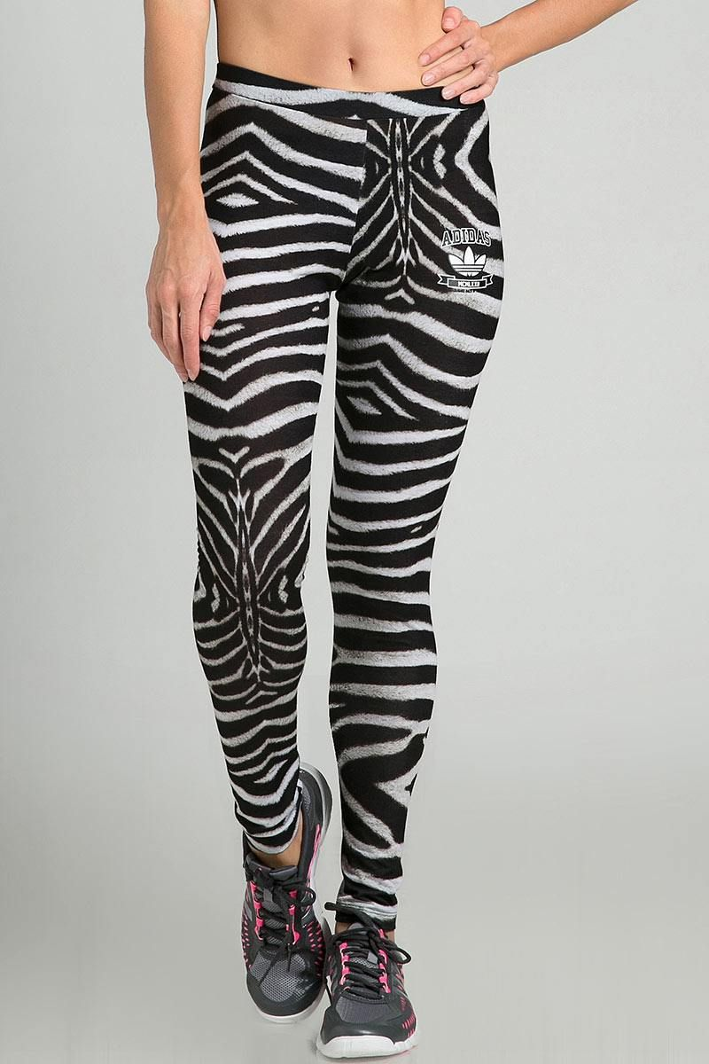 adidas leggings zebra