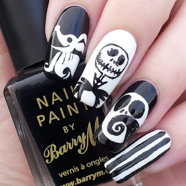 Instagram Photo By Katiescreativenails Nightmare Before Christmas