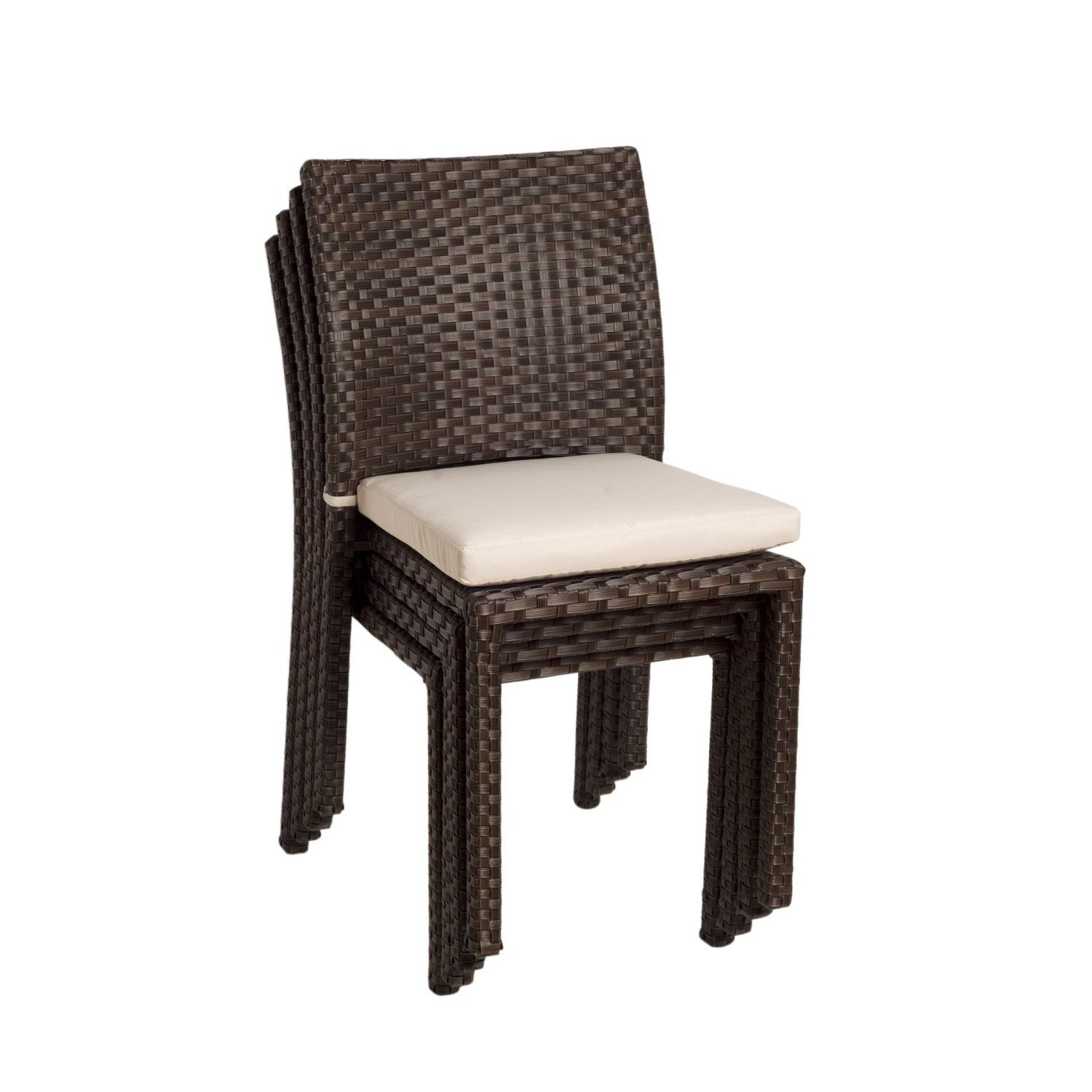 amazoncom atlantic liberty stackable chairs 4 pack patio lawn