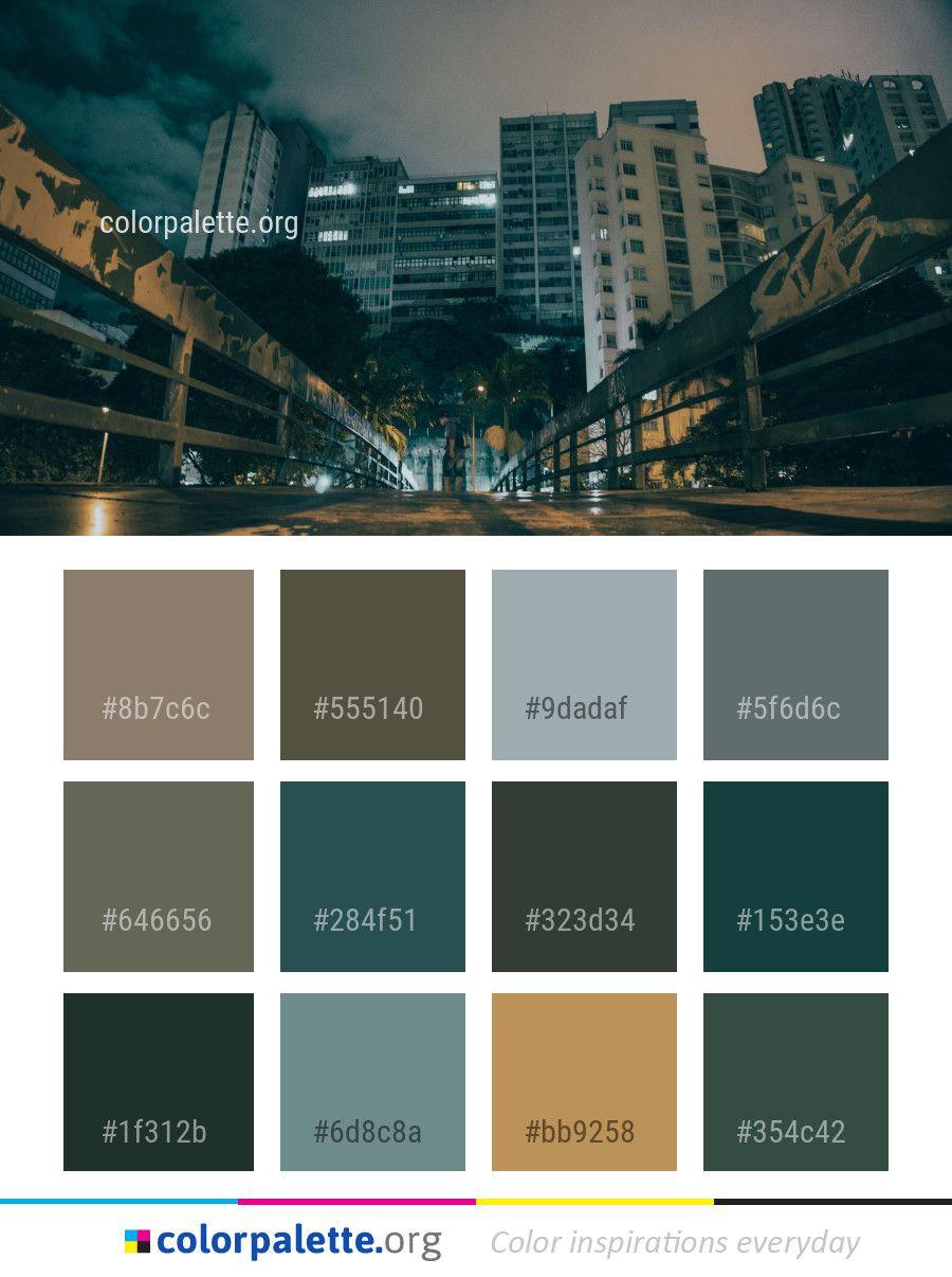 cityscape urban area metropolis color palette color palettes rh pinterest com