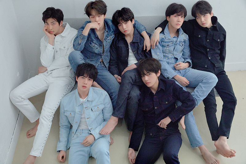 Photo Concept R 2018 Love Yourself Tear Bts Denim Bts Concept Photo Album Bts Bts Group