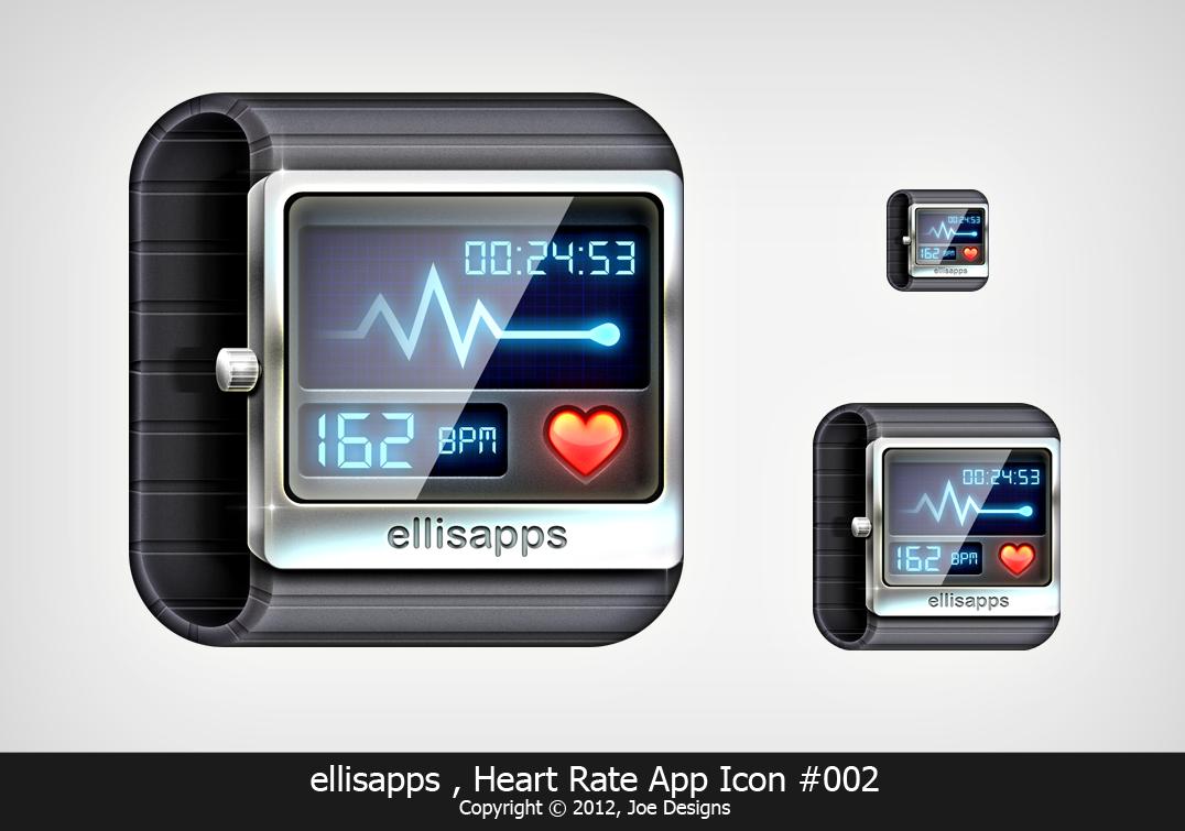 heart rate app icon by Joekirei Иконки