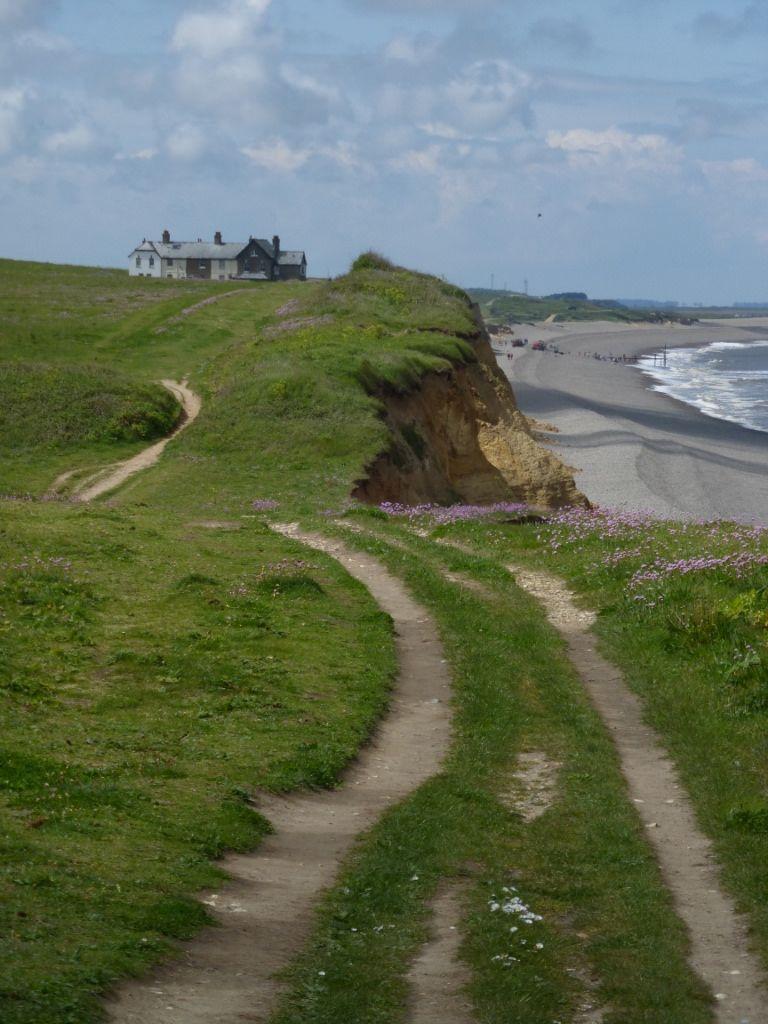 cliff path near weybourne norfolk england norfolk norfolk rh pinterest com