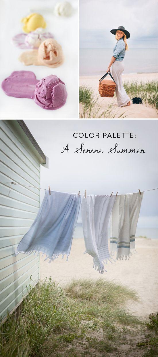 Color Palette: A Serene Summer