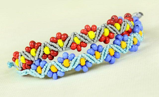 ZigZag Flower Bracelets