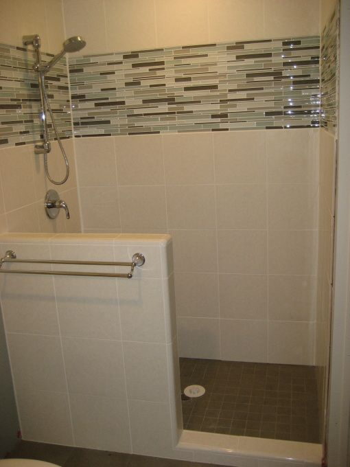 Small master bath gets a makeover they are in the middle for Bathroom recessed lighting design
