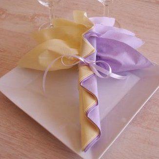 Pliage serviette palmier pinteres - Pliages de serviettes de table en papier ...