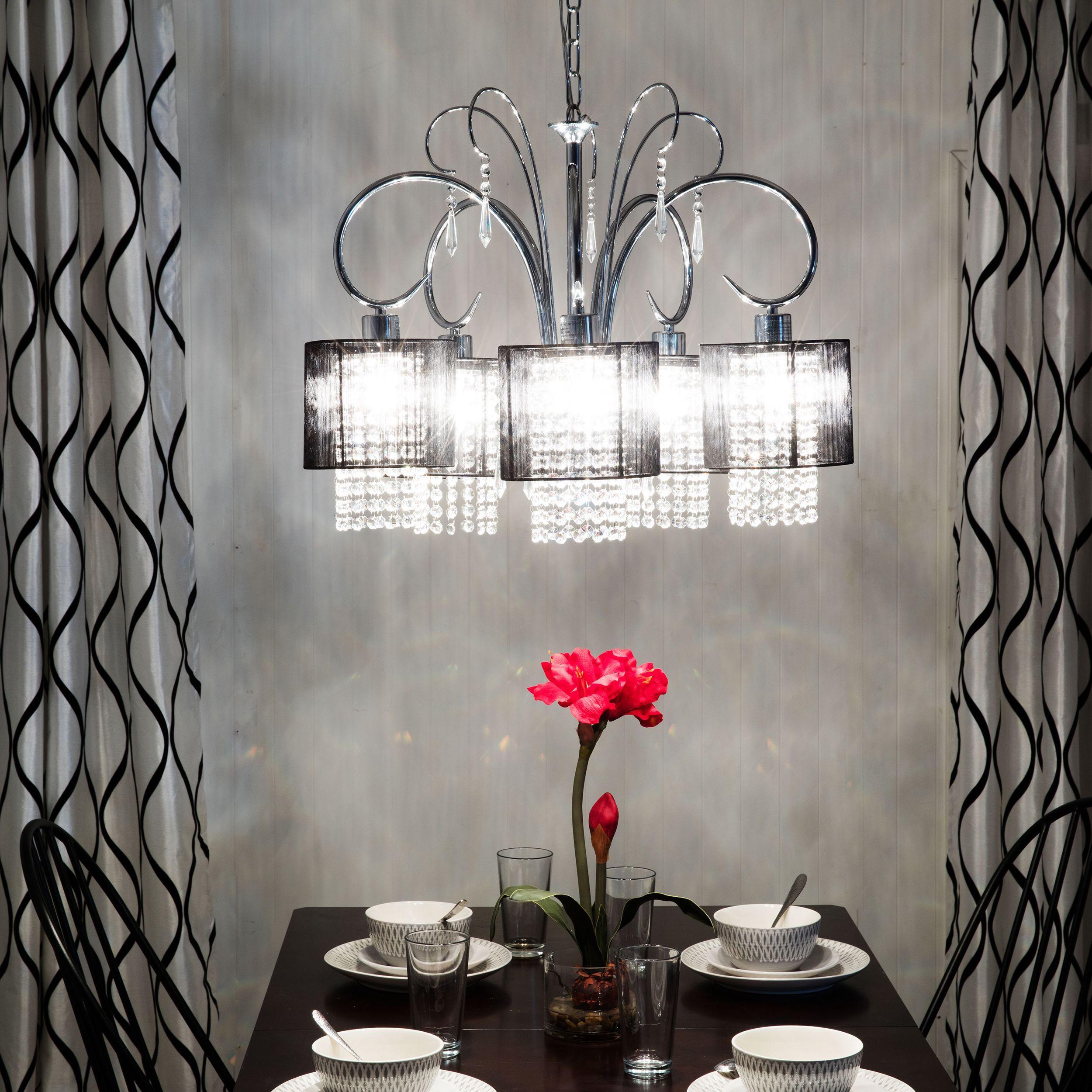 Room Warehouse of Tiffany Celeste Crystal 5 light