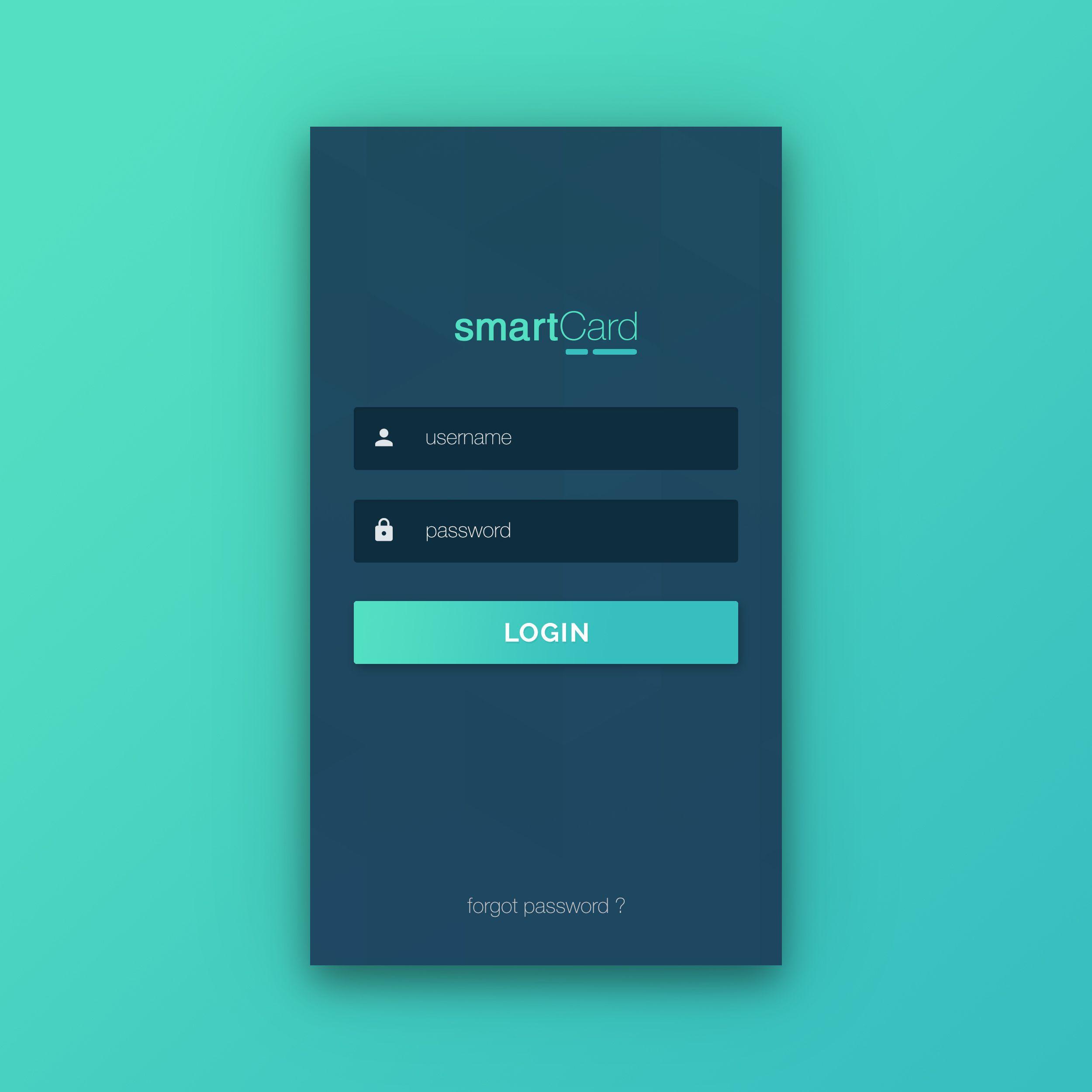 Login page learnandtry pinterest ui ux app design - Web application home page design ...