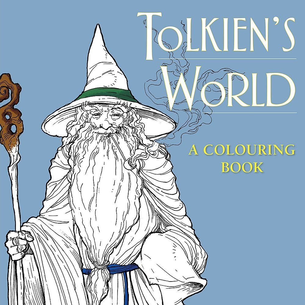 JRR Tolkien Colouring Book