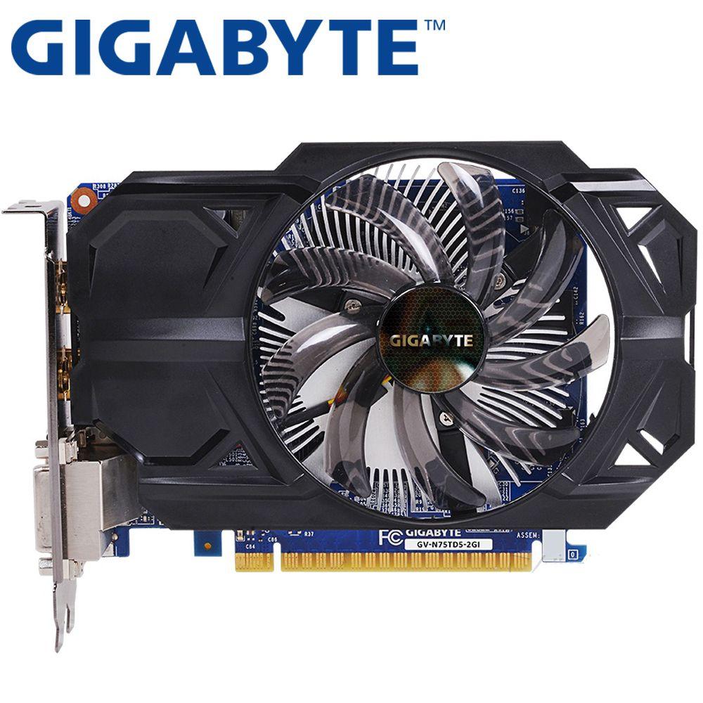 GIGABYTE NVIDIA GeForce GTX 750 1 GB 128bit GTX750 1GB HDMI DVI Video Card
