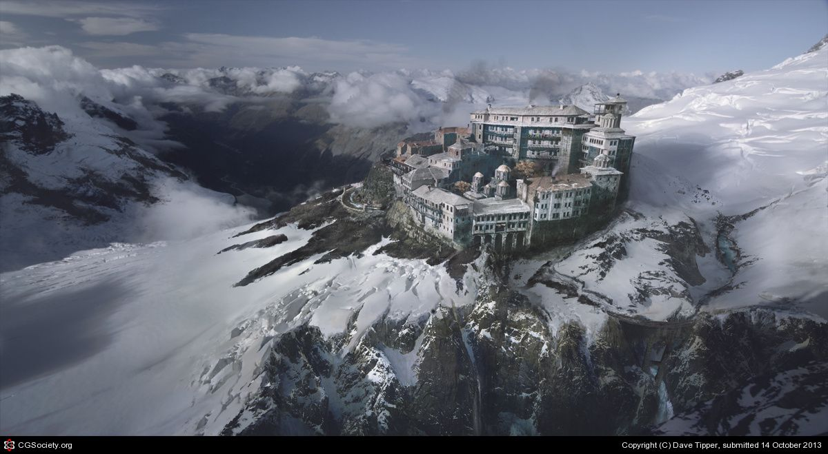 alpine keep by Dave Tipper | 3D | CGSociety