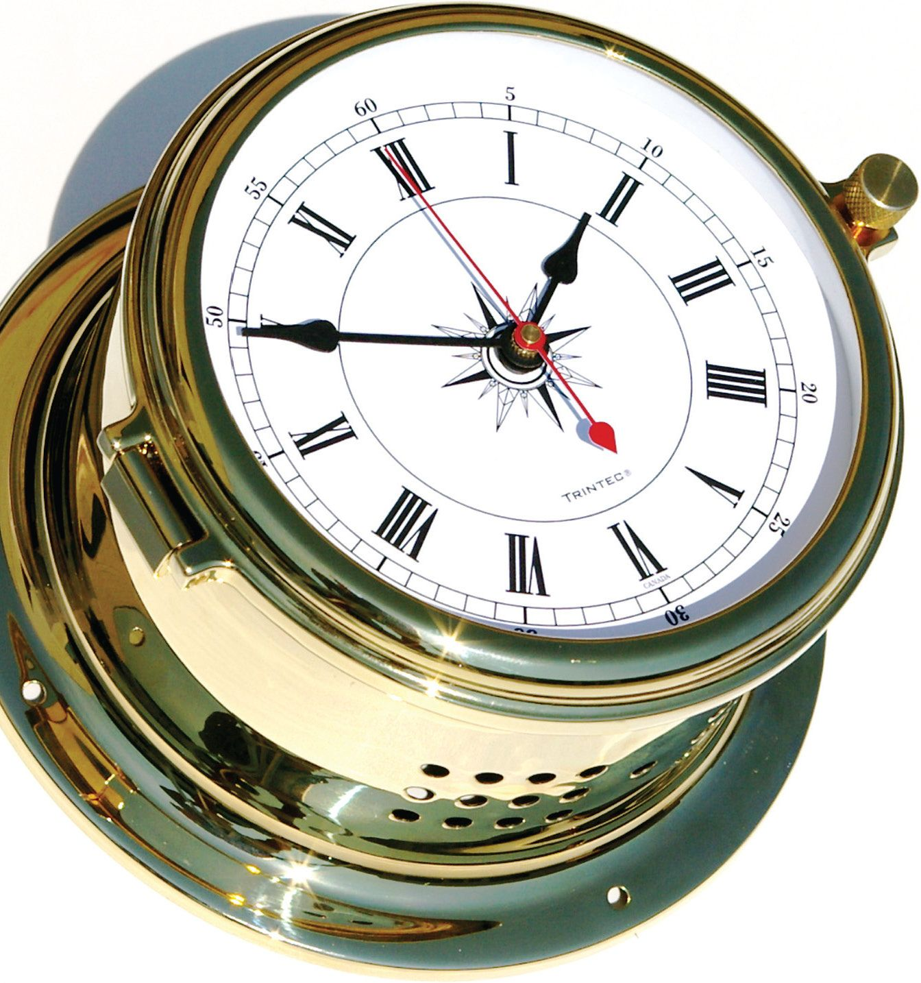 Navigator Quartz Clock - Introducing a new benchmark in precision analog instruments with a lifetime Zirconium finish - One year manufacturer's warranty - $300.00 - www.trintec.com