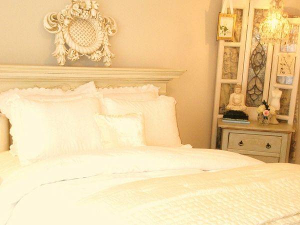 10 romantische Schlafzimmer bieten Komfort und