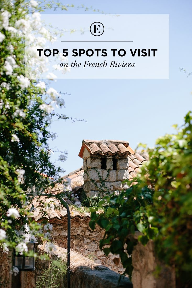 5 Spots to Visit on the French Riviera