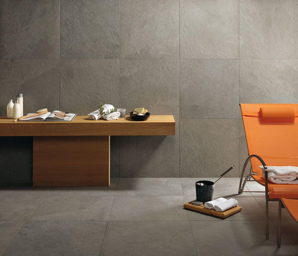 caesar #slab silver 30x60 cm abwk | #feinsteinzeug #steinoptik, Badezimmer ideen