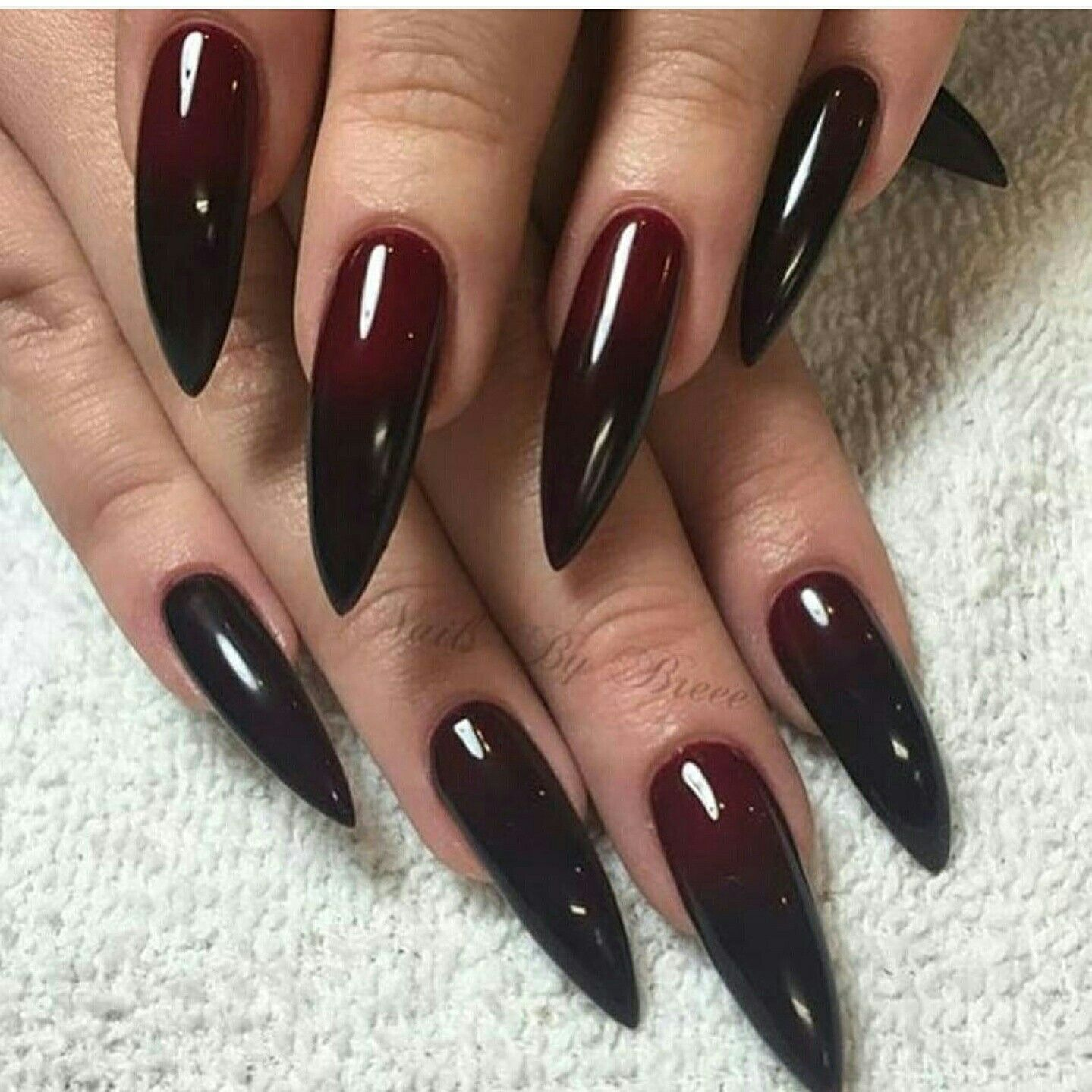 Beautiful | Gothic nails, Goth nails, Vampire nails