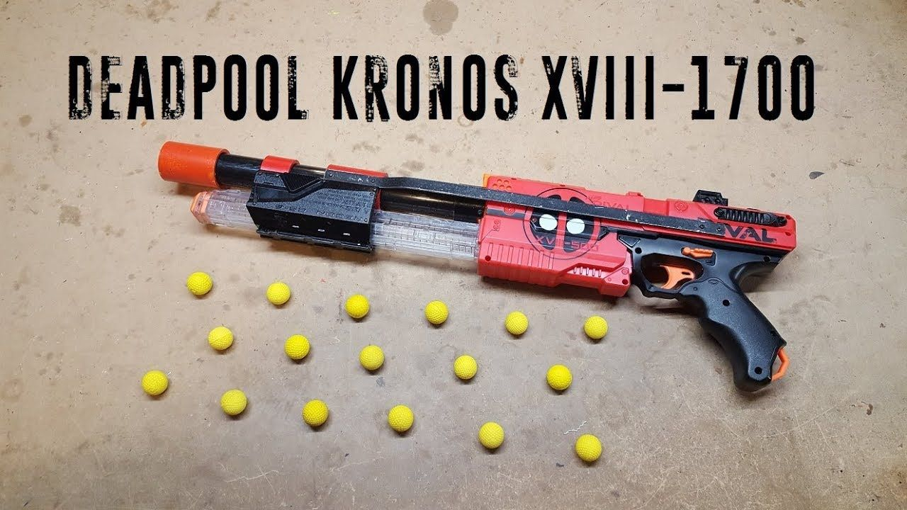 Nerf Deadpool Kronos XVIII-1700 | Nerf Mods and more | Nerf