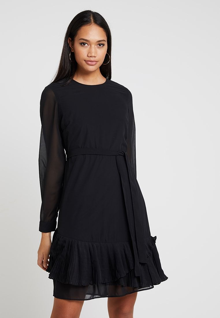 vero moda vmamanda dress - vestito estivo - black - zalando