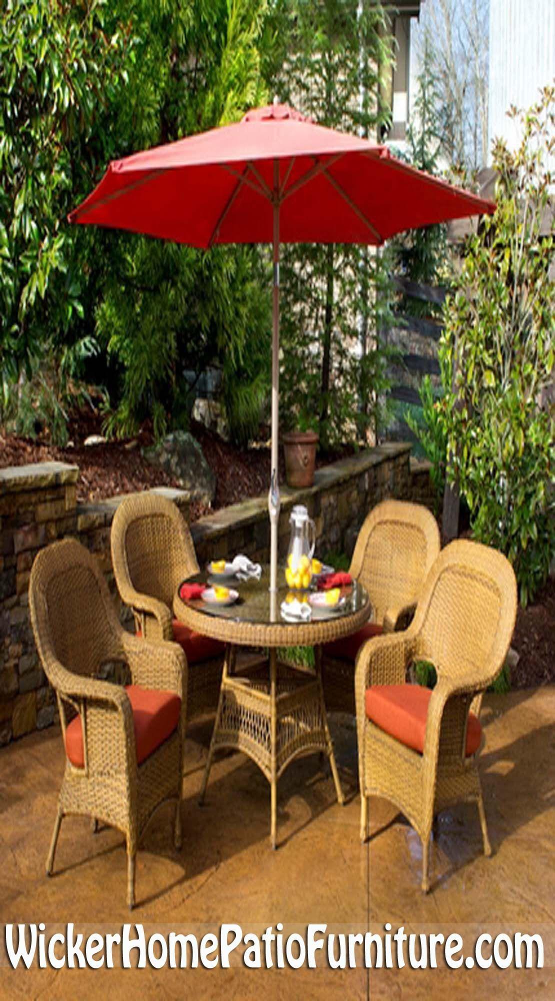 lexington wicker patio dining set has graceful curves that create rh pinterest com