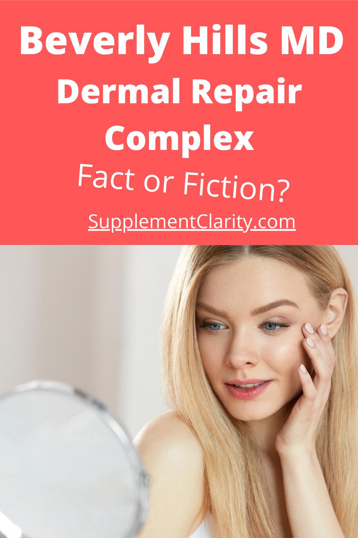 Beverly Hills MD Dermal Repair Complex: Is It Legit ...