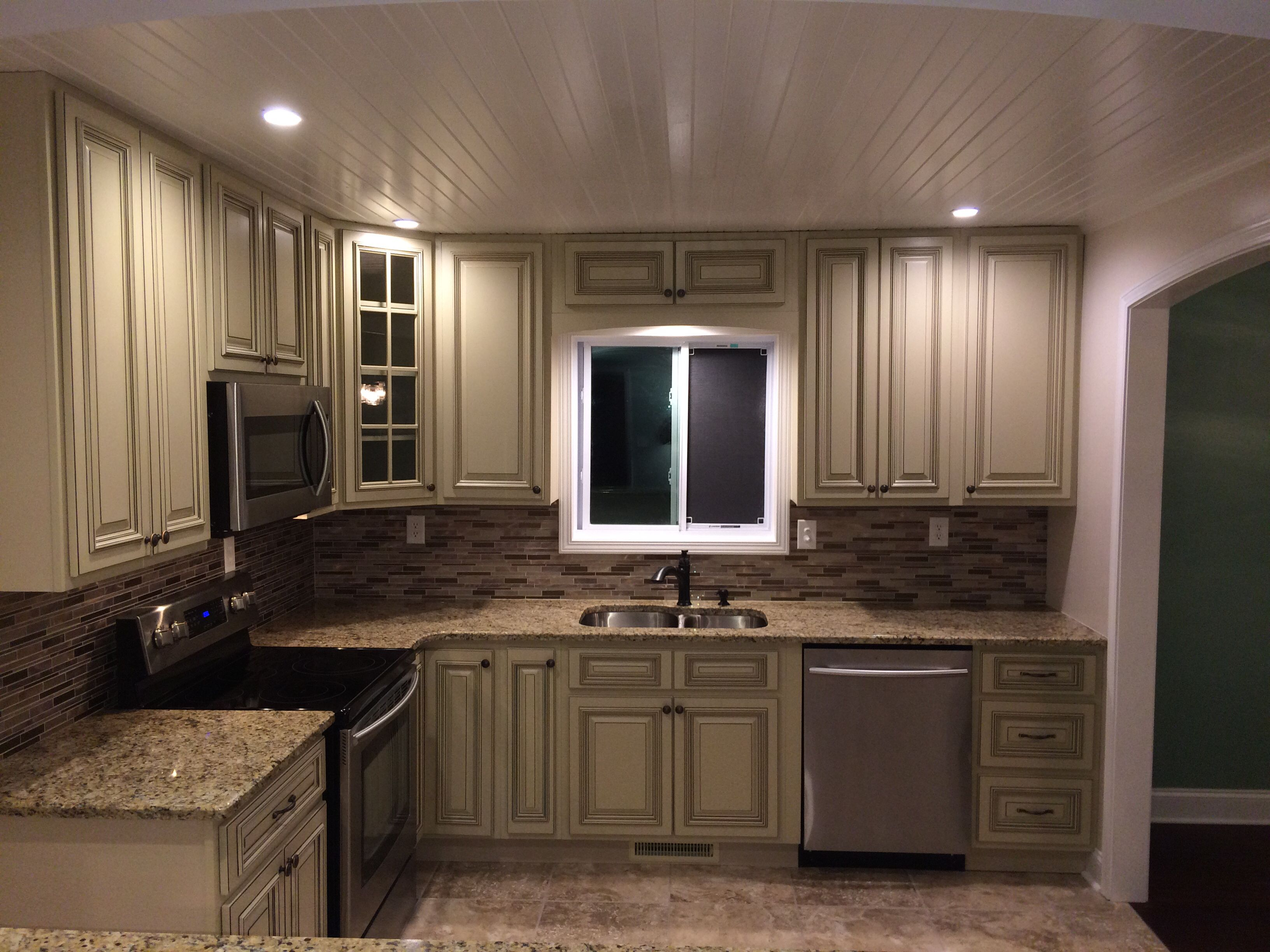 Our Beautiful In Stock Heritage White Cabinets Thanks Aaron Newman For The Pics Home Luxury Vinyl Flooring Kitchen Design