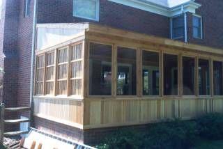 Porch Close In Bottom Of Screened Porch Patio Remodel Pergola