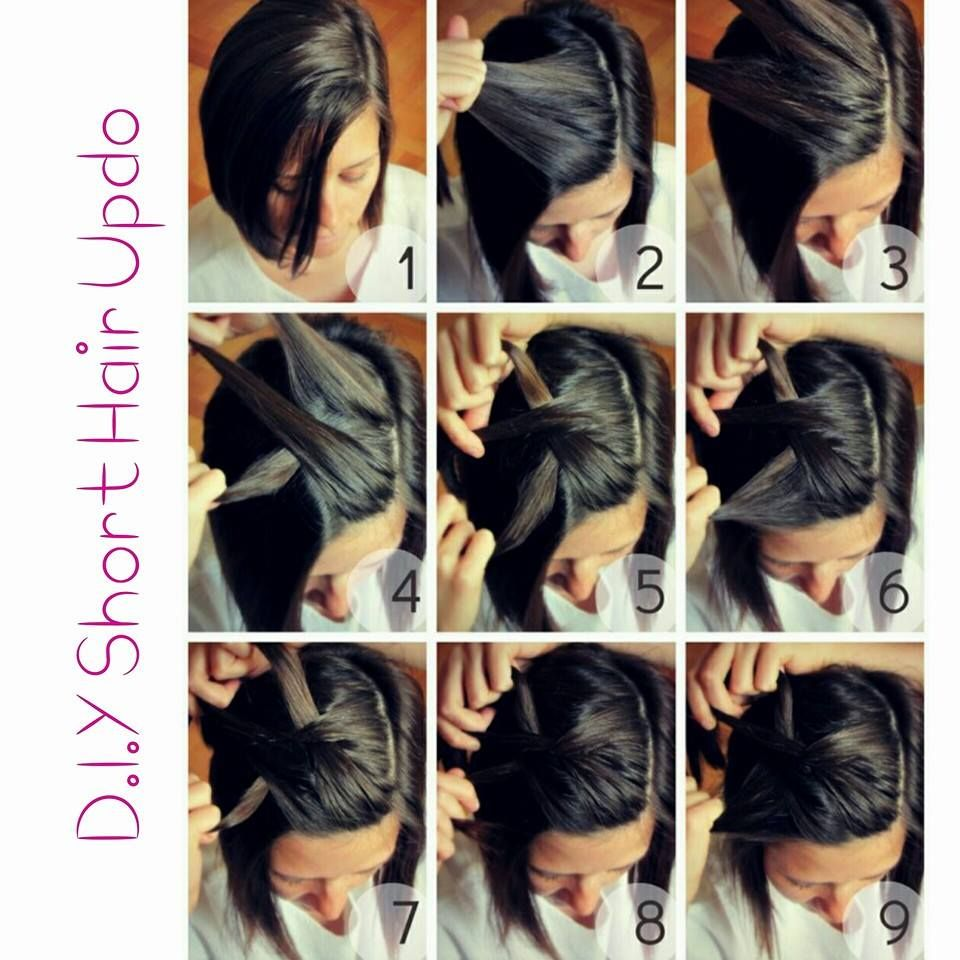 gorgeous diy hairstyles for short hair that are truly drool
