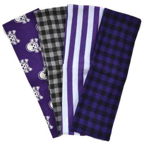 Set of 4 Back to School Mixed Print Cotton Stretch Headbands (Purple Set) Funny Girl Designs http://www.amazon.com/dp/B00IYXTROK/ref=cm_sw_r_pi_dp_wQxqvb12YQWTD