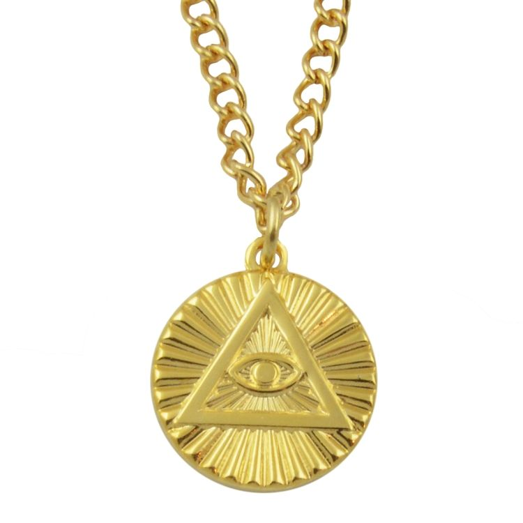 All seeing eye eye of providence pendant necklace scottish rite all seeing eye eye of providence pendant necklace mozeypictures Images