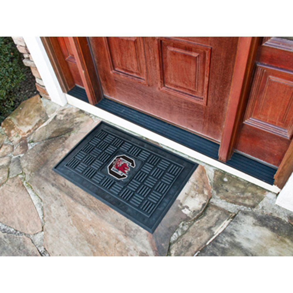 South Carolina Gamecocks NCAA Vinyl Doormat (19x30)