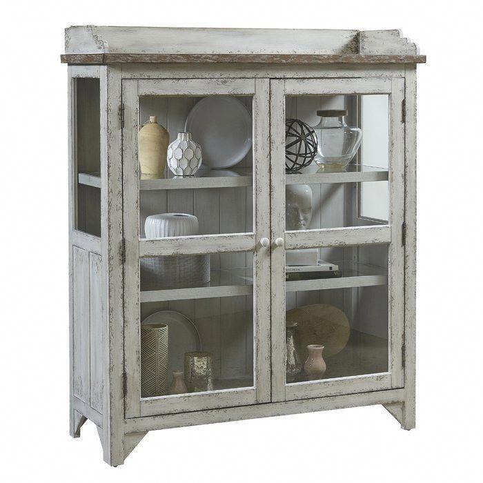 Fredericksburg Console Curio Cabinet Curio Cabinet