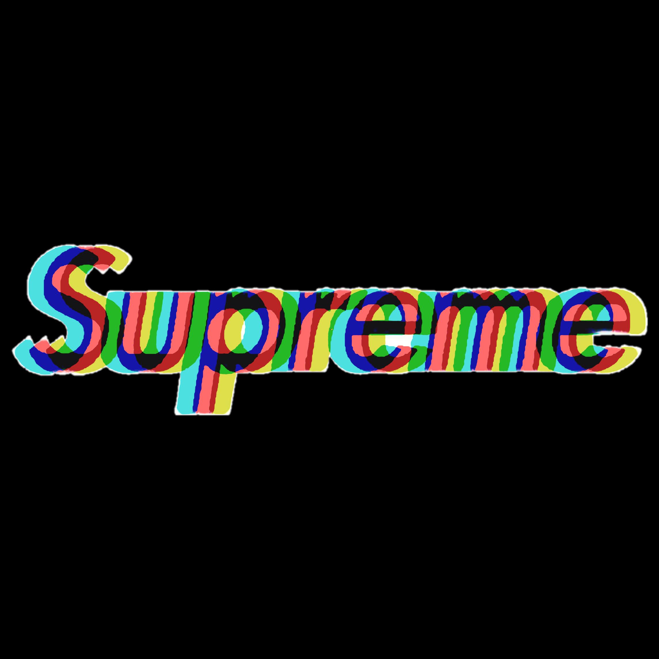 Freetoedit Supreme Memezasf Motionblurr Glitch Glitcheffect Glitched Aesthetic Lit Korea Ba Theme Dividers Instagram Supreme Sticker Glitch Wallpaper
