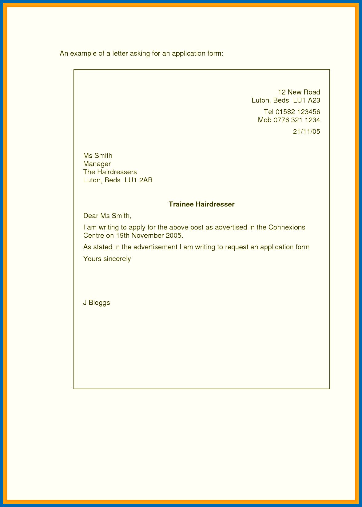 25 Simple Cover Letter For Job Application How To Write A Samples Lezincdc