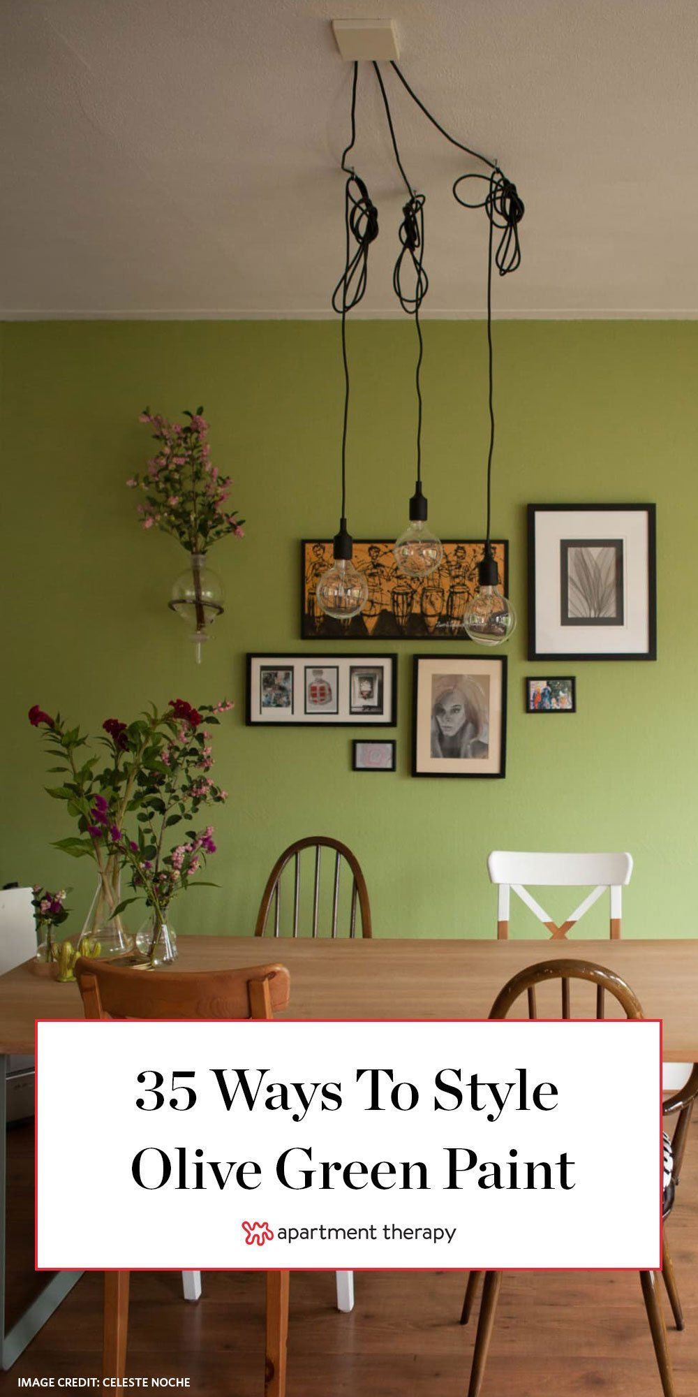35 Olive Green Paint Ideas That Ll Make Any Room Feel More Sophisticated Olive Green Paints Green Painted Walls Green Dining Room Walls Olive green paint living room