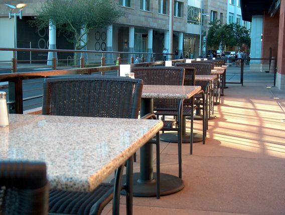 Outdoor Restaurant Tables Made Of Granite Are A Gorgeous Option For Your  Outdoor Diners. Http