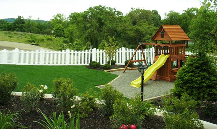 Best 7 Kind Clever Tips Picket Fence Play Area Contemporary 400 x 300