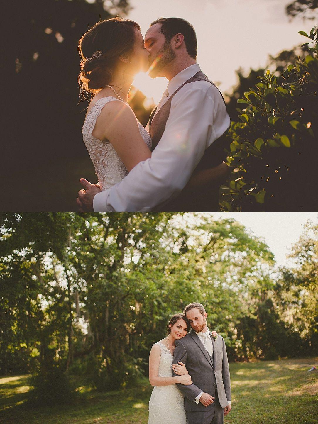 Wedding dresses lakeland fl  EmileeuTim  MacKay Gardens Wedding  Lake Alfred FL  Lindsey