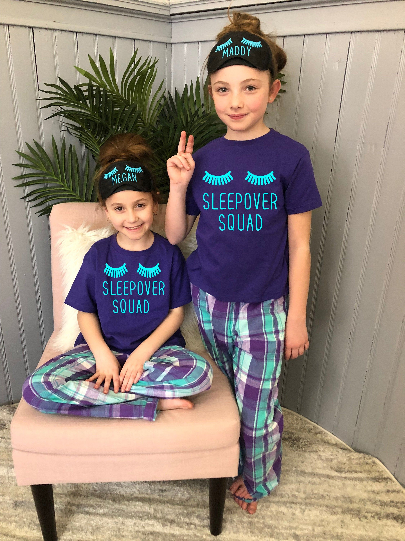 GIRLS SLEEPOVER SQUAD PYJAMAS SET