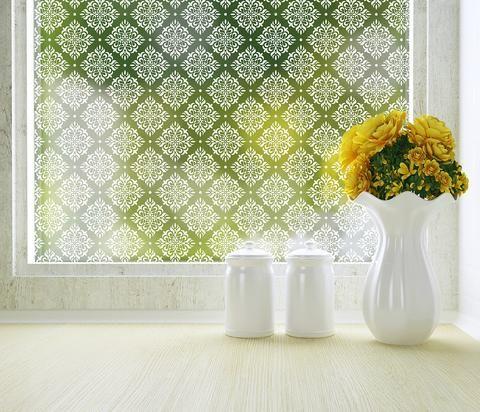 damask privacy window film adhesive house pinterest window rh pinterest com