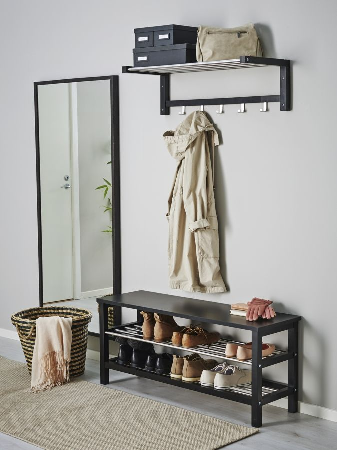 Recibidor muebles negros #hall | PŘEDSÍNĚ | Pinterest | Muebles ...