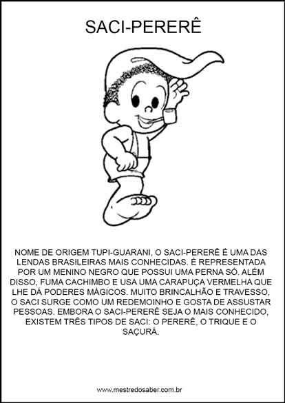 Projeto Folclore Para Educacao Infantil Em 2020 Projeto Folclore