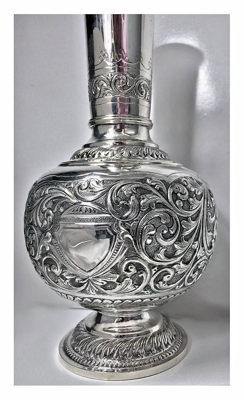 fullxfull vase style piece silver ern plate il listing zoom center elegant trophy large