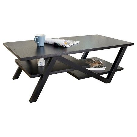 Admirable Benjamin Modern Architectural Inspired Coffee Table Black Machost Co Dining Chair Design Ideas Machostcouk