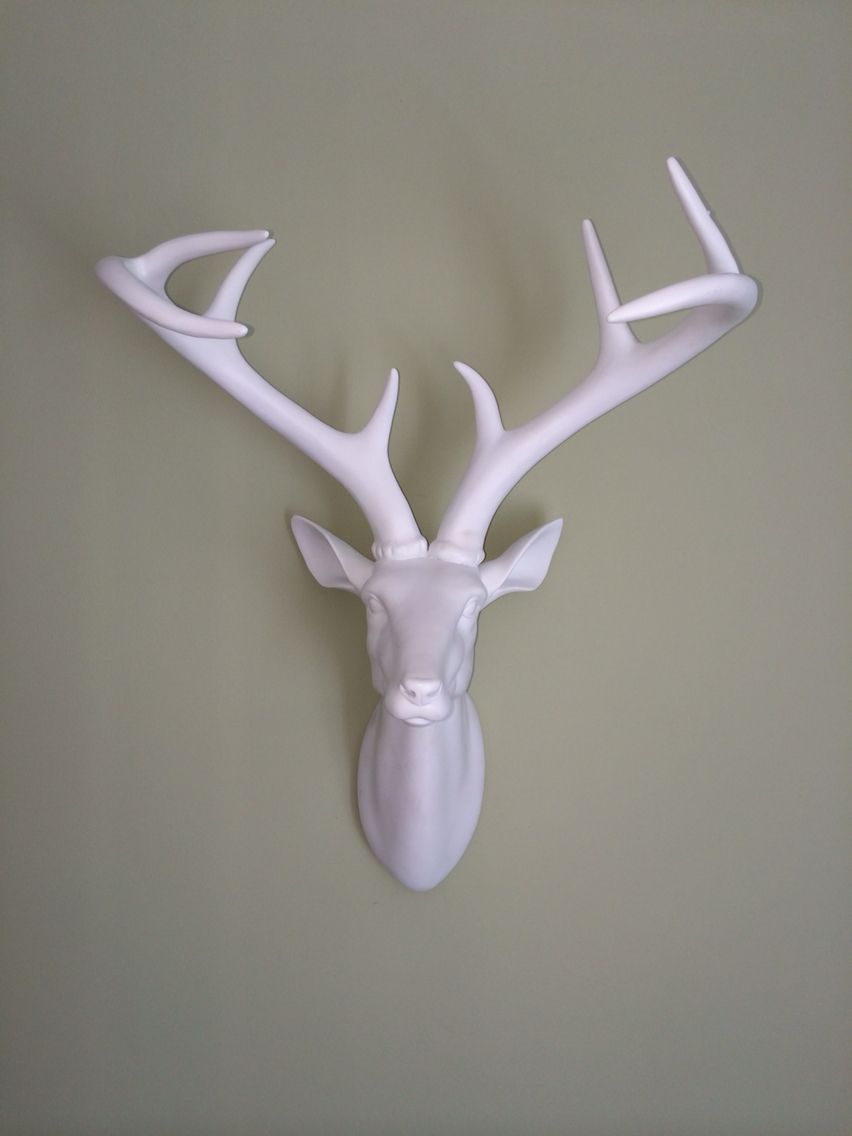 Argos stag against dulux crushed aloe paint